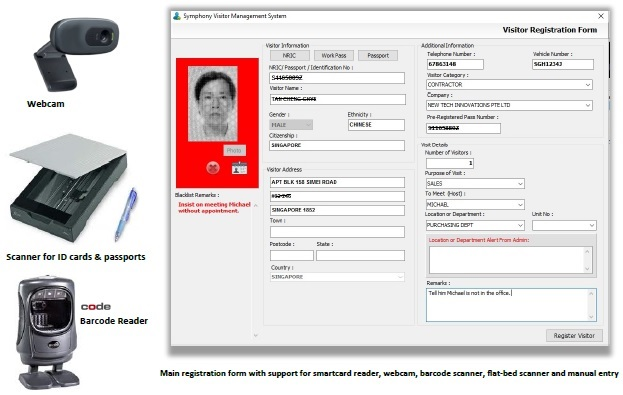 Passport Reader, Identity Management, Digital Signature